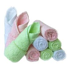 2019 soft 100% Bamboo 6 baby bath organic washcloths 10&quot;<strong>x10</strong>&quot; Baby Face Towel for kids and adults