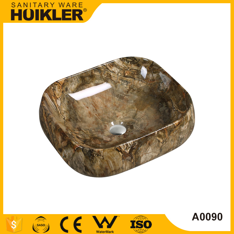 Bathroom cultured marble commercial trough sink for bathroom single sink vanity