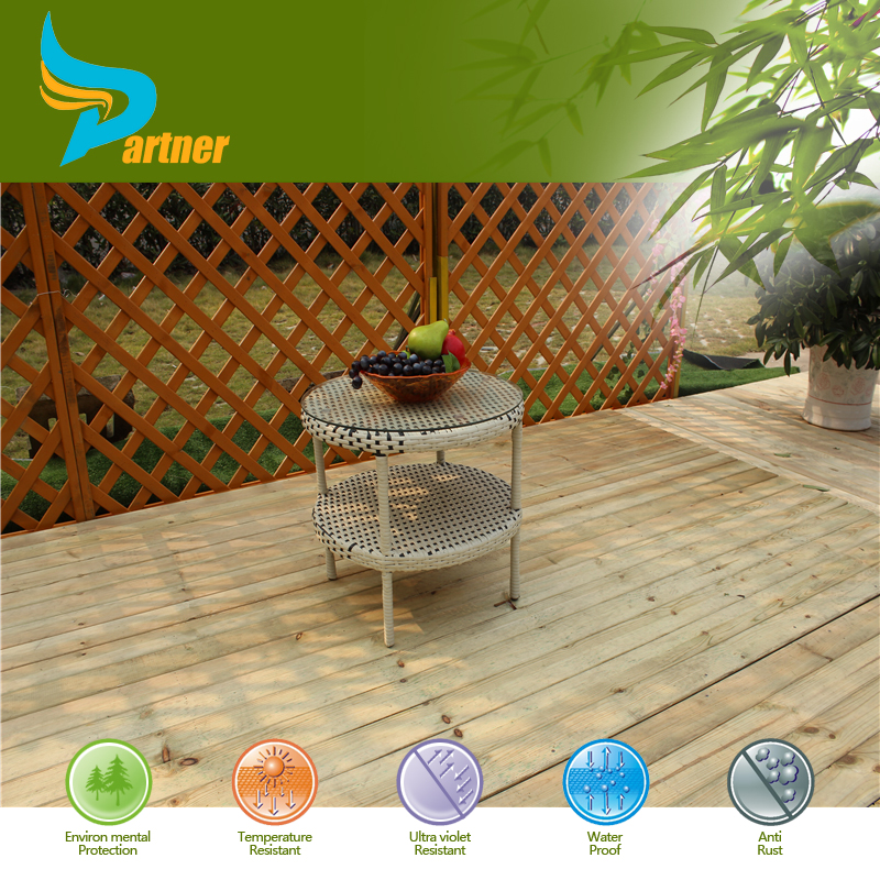 Cheap and Nice Design Small Tea Table Rattan Outdoor Furniture
