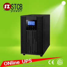 LCD Display Online UPS 6kva 10kva with external batteries for office computer