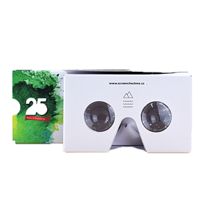 DIY Google Cardboard 2.0 VR 3d glass Virtual Reality 3D Glasses with head strap google cardboard 3d glasses