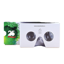 DIY Google Cardboard 2.0 VR box Virtual Reality 3D Glasses with head strap