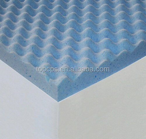 High Quality Wholesale Memory Foam Mattress, Egg Crate Topper