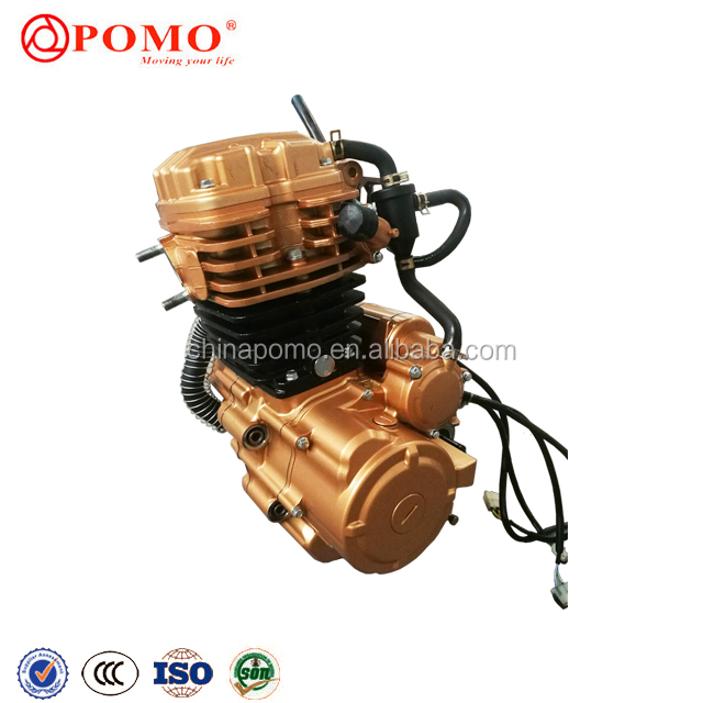 Jialing Motorcycle Spare Parts 250Cc Go Kart Engine, Motor Bike Engine