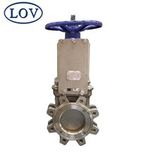 High Performance Stainless Steel Manual rising stem Knife Gate Valve