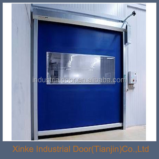 Automatic PVC fabric roll up door HSD-104