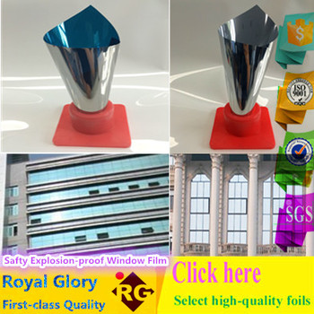 2Mil Royal Glory Adhesive Safty Explosion-proof Solar Window Film for Home Window