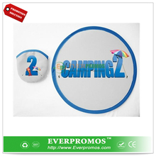 folding cloth frisbee for promotion