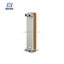 Modular design titanium sea water oil cooler plate heat exchanger