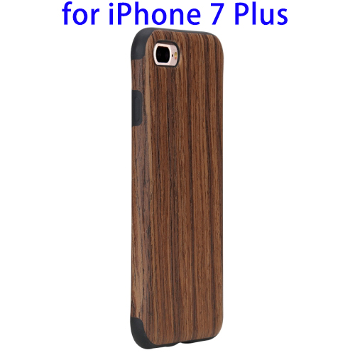 Hot New Cases for iPhone 7 and 7 plus, TPU Back Case Cover For Smartphone For iPhone 7 Wood Case