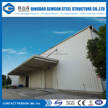 Environmental prefab light steel structure factory/warehouse building