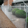 cyclone diamond wire fence galvanized used chain link fence per sqm weight for sale