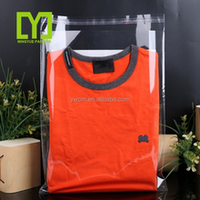 2017 Hotsale Opp Plastic Clear Shirt/Clothes Packing Poly Self Adhesive Bag For Apparel/Clothing Factory/Stores