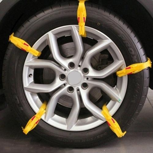 10 pcs de voiture de pneus neige anti d rapage cha nes blanc cha nes pour famille de voiture. Black Bedroom Furniture Sets. Home Design Ideas