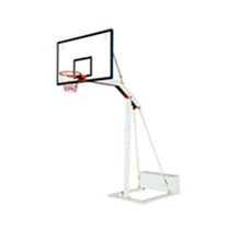 With durable SMC backboard basketball stand stainless steel basketball hoop
