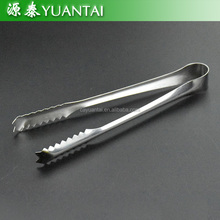 Hot Sale Stainless Steel Restaurant Serving Tongs BBQ Food Tongs shell shape Mini food Serving Tongs
