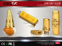 Custom metal USB flash drive with your sample shape 4GB/8GB/16GB choice CE/ROHS/FCC certification