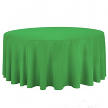 132 round banquet tablecloths for sale