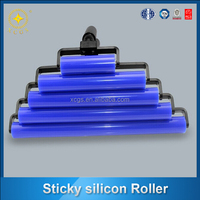 Reusable washable silicon sticky rollers for european market
