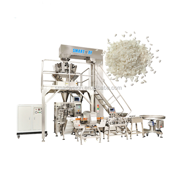 High Quality 3-5KG Fully Automatic Vertical Rice Beans Sugar Packaging Machine Price