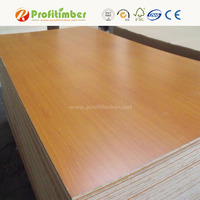 China MDF Boards Double Sided Melamine MDF