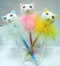 Novelty Feather Cat Pen