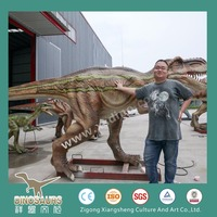 Cheap Sale Animatronic Dinosaur Making Outdoor Play Equipment