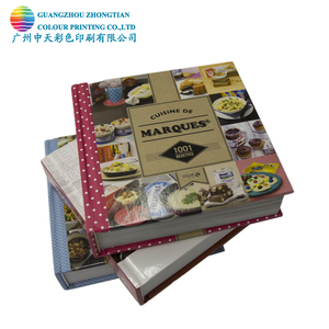 Professinal printing receipt book cook book