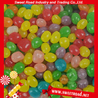 Halal Colorful Bulk Soft Jelly Bean Candy