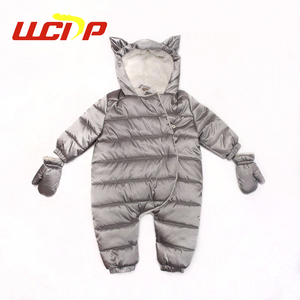 Made in China bulk private label fashion fancy silver winter new born baby clothes sets