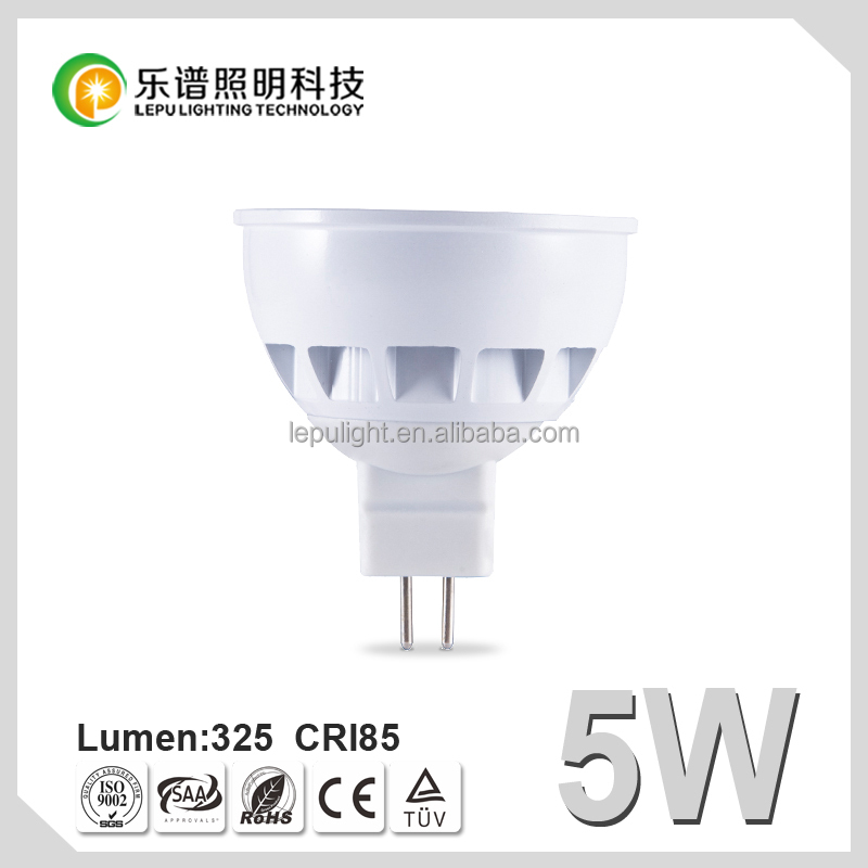 Norway hot selling ! 46deg 5w led spotlight dimmable gu10 2700k