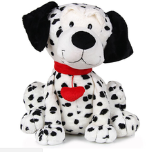 Customized hot sale snow plush and stuffer dog toys plush animal toys Realistic plush toy dog