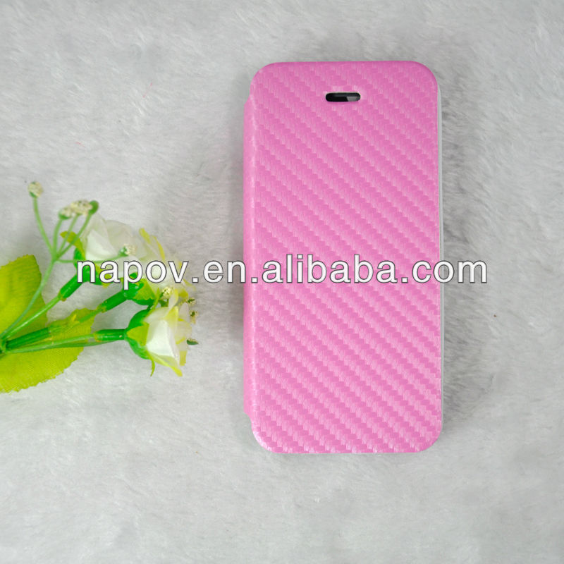 Alibaba Express Newest Folded Design PU Basket Croco Leather Case for iphone 5