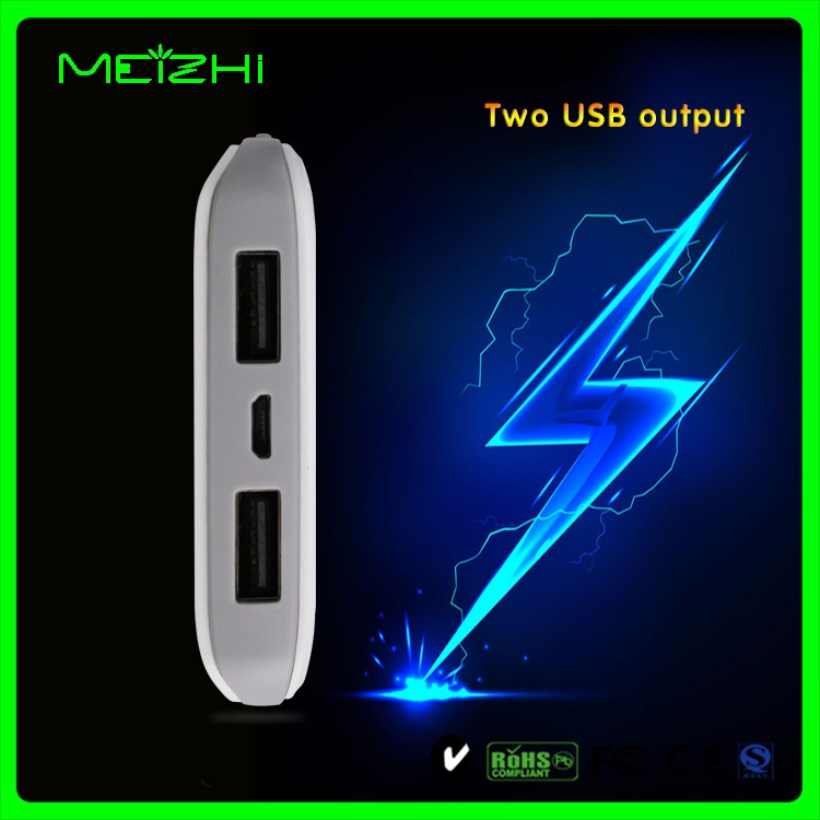 Mobile 2a charger unique dot design 7000mah power bank