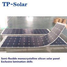 Flexible monocrystalline silicon PV solar panel Energy Systems solar panel wholesale for car caravan yacht