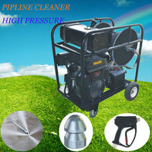2014 gasoline engine drived high pressure water jet floor cleaning machine