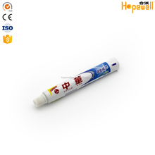 50ml 100ml 120ml aluminum plastic laminated small tubes packaging empty hotel toothpaste tube