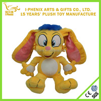 Cute Lovely New design cartoon rabbit plush stuffed plush toys with long ears