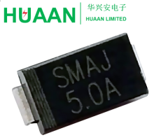 SMAJ150CA , SMAJ150A ,DO-214AC 150V Transient Voltage Suppressor TVS Diode