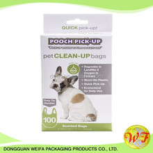 Pe Eco-friendly Dog Waste Bags, Dog Poop Bag With Packing Box