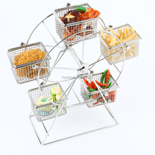 Ferris Wheel Cupcake Holder Dessert Display Stand,fancy party cupcake stand, stainless steel ferris wheel holder stand