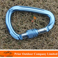 NEW! High Strength 28KN CE+EN Aluminum Carabiner Hook For Rock Climbing Wholesale & Custom