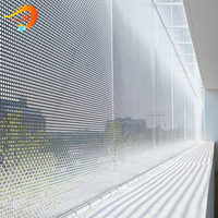 round hole stainless steel perforated metal mesh sheet fabrication