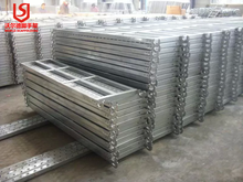 Factory direct sale steel steel Scaffolding Planks With Perforated Design In Layher T4 Style
