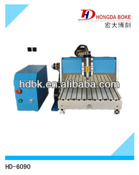 Desktop Mini Cnc Router for advertising and woodworking HD-6090