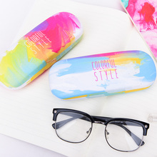 Languo New design PU fashion colorful glasses case for wholesale