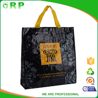OEM eco friendly cheap reusable folding shopping bag wholesale
