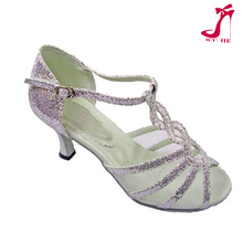 wujie factory fashion sparkle dance shoes