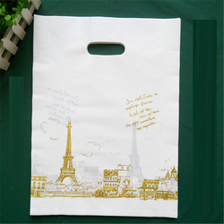 2016 hot selling handle length hand plastic shopping bag
