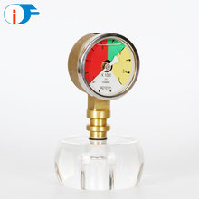 Hydraulic Oil Silicone Glycerin Filled Pressure Gauges